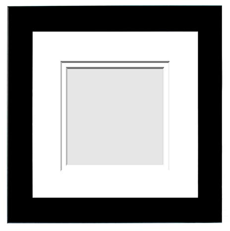 DESIGNER COLLECTION : ( Double Matted Frame )  Image-Sizes 3x3 up